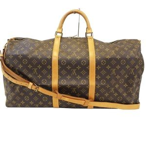 🤎LOUIS VUITTON Monogram Keepall Bandouliere…